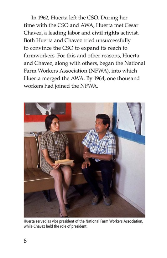 Book Preview For Dolores Huerta Page 8