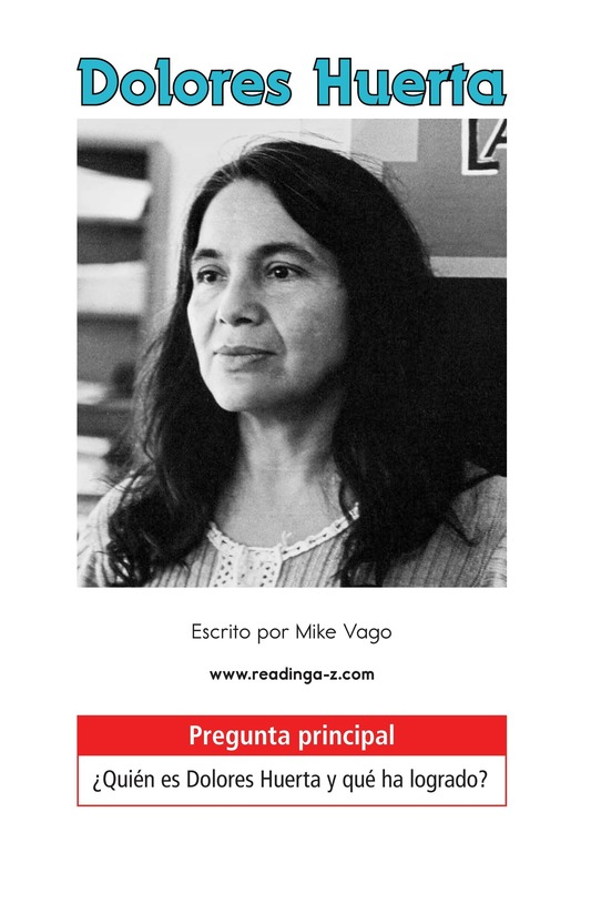 Book Preview For Dolores Huerta Page 1
