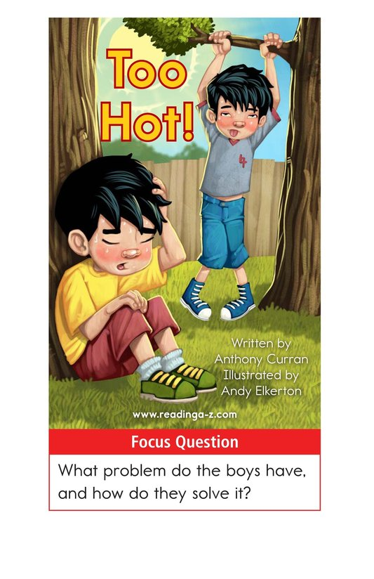 Book Preview For Too Hot! Page 1