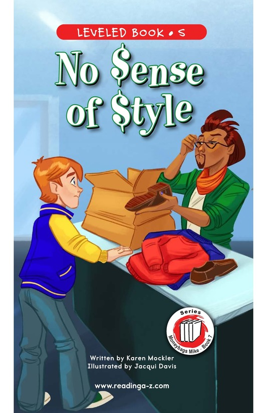 Book Preview For Book 7: No Sense of Style Page 0