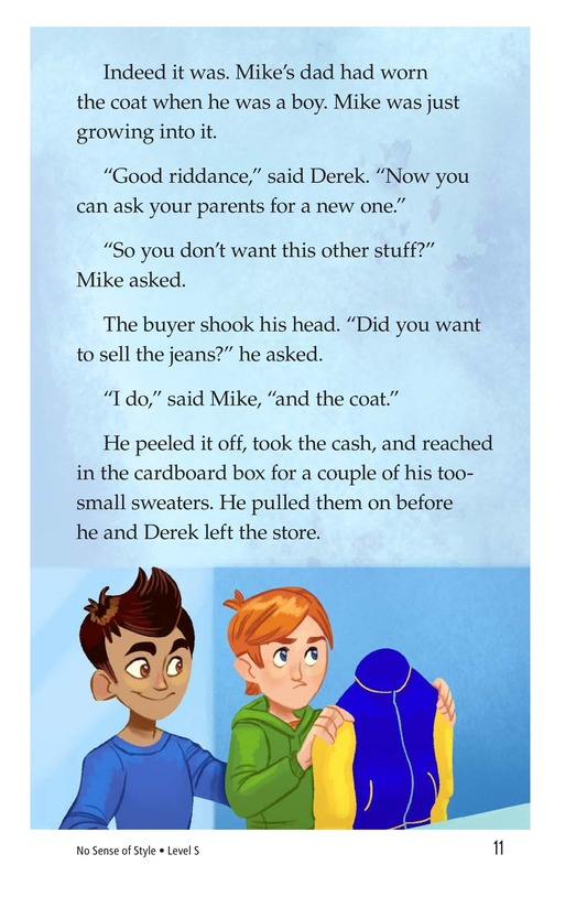 Book Preview For Book 7: No Sense of Style Page 11