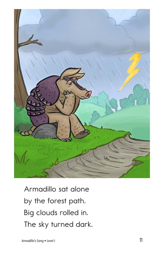 Book Preview For Armadillo's Song Page 11