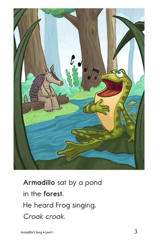 Book Preview For Armadillo's Song Page 3