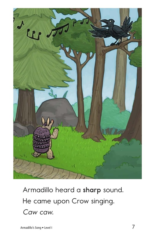 Book Preview For Armadillo's Song Page 7