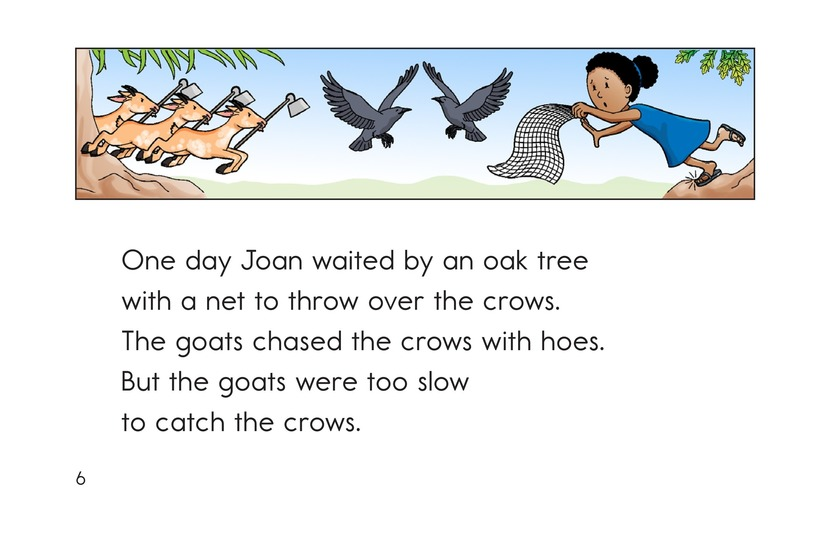 Book Preview For Joan's Goats and Moe's Crows Page 6
