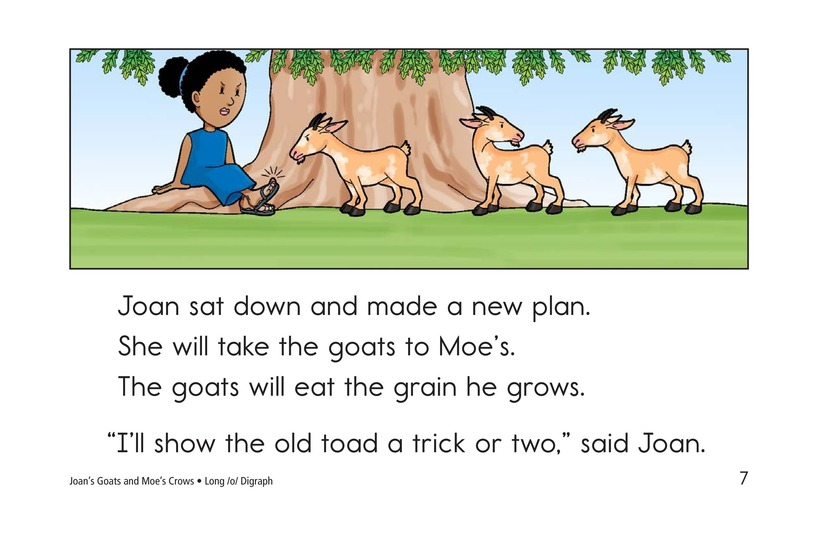 Book Preview For Joan's Goats and Moe's Crows Page 7