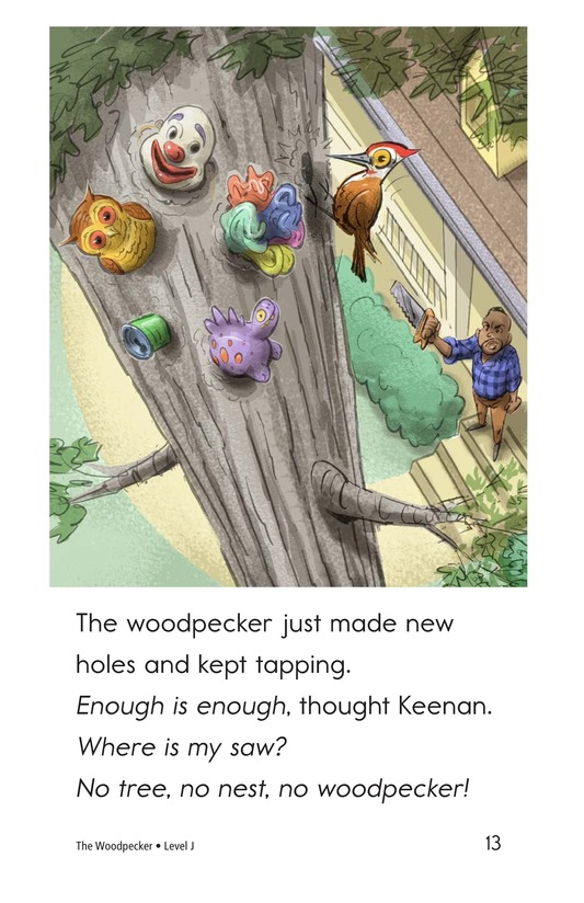 Book Preview For The Woodpecker Page 13
