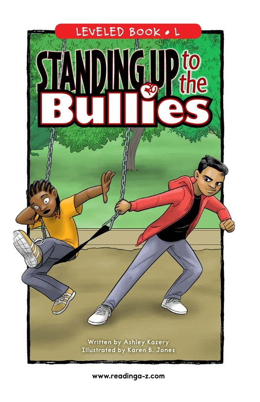 Book Preview For Standing Up to the Bullies Page 0