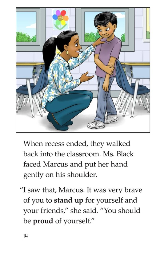 Book Preview For Standing Up to the Bullies Page 14