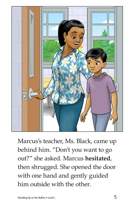 Book Preview For Standing Up to the Bullies Page 5