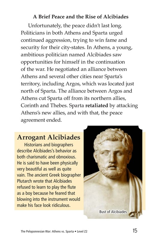 Book Preview For The Peloponnesian War: Athens Versus Sparta Page 15