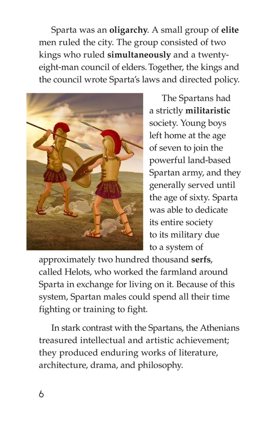 Book Preview For The Peloponnesian War: Athens Versus Sparta Page 6