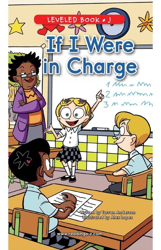 Book Preview For If I Were In Charge Page 0