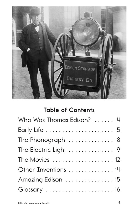 Book Preview For Edison's Inventions Page 3
