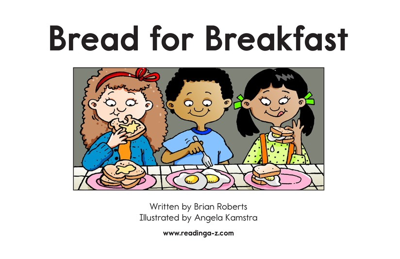 Book Preview For Bread for Breakfast Page 2