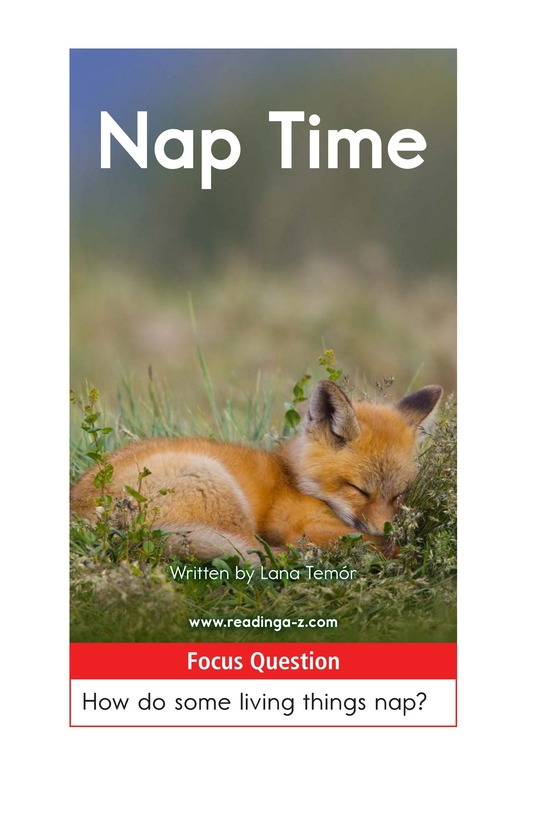 Book Preview For Nap Time Page 1