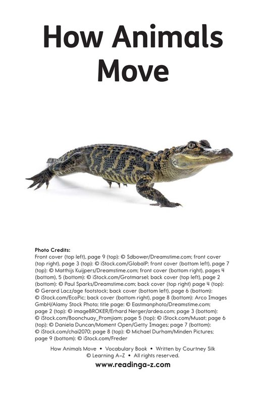 Book Preview For How Animals Move Page 11