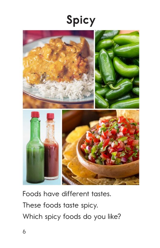 Book Preview For Tastes Page 6