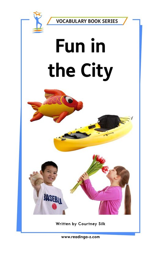 Book Preview For Fun in the City Page 1