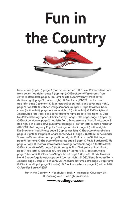 Book Preview For Fun in the Country Page 11