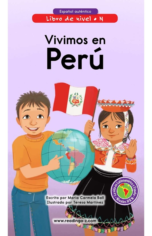 Book Preview For Vivimos en Perú Page 0
