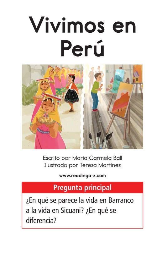 Book Preview For Vivimos en Perú Page 1