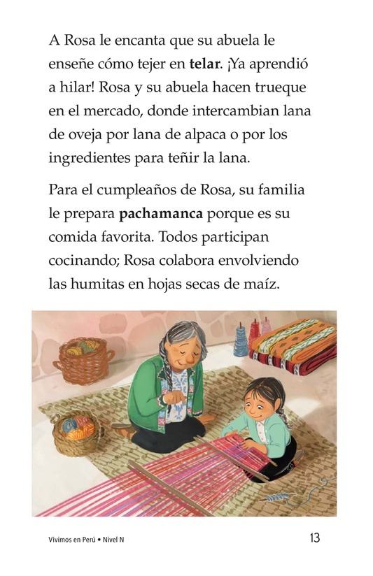 Book Preview For Vivimos en Perú Page 13