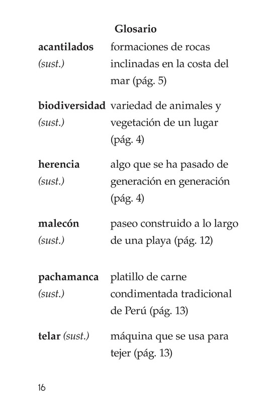Book Preview For Vivimos en Perú Page 16