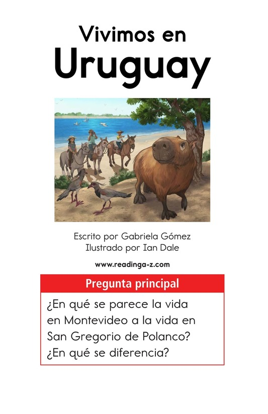 Book Preview For Vivimos en Uruguay Page 1