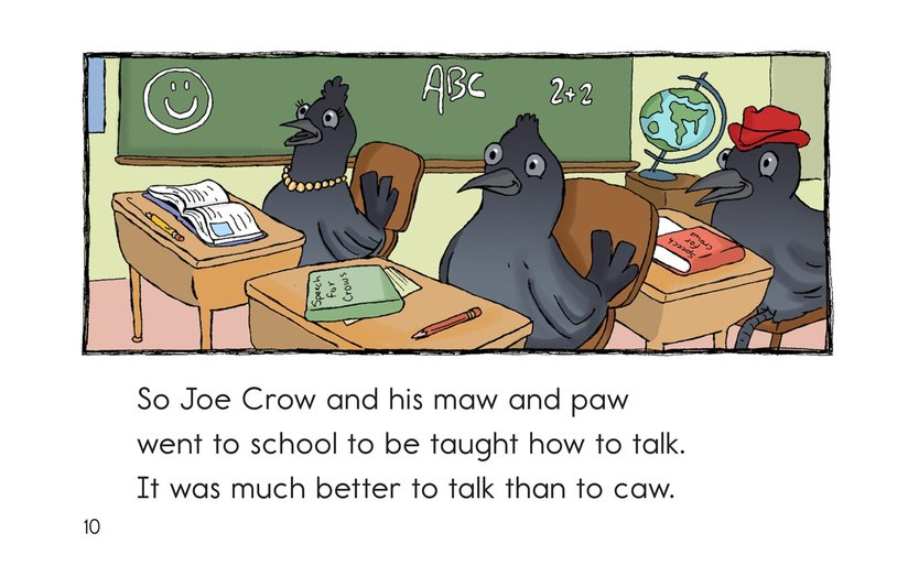 Book Preview For A Crow with Flaws Page 10