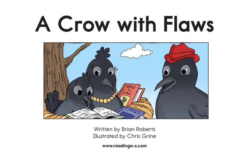 Book Preview For A Crow with Flaws Page 2