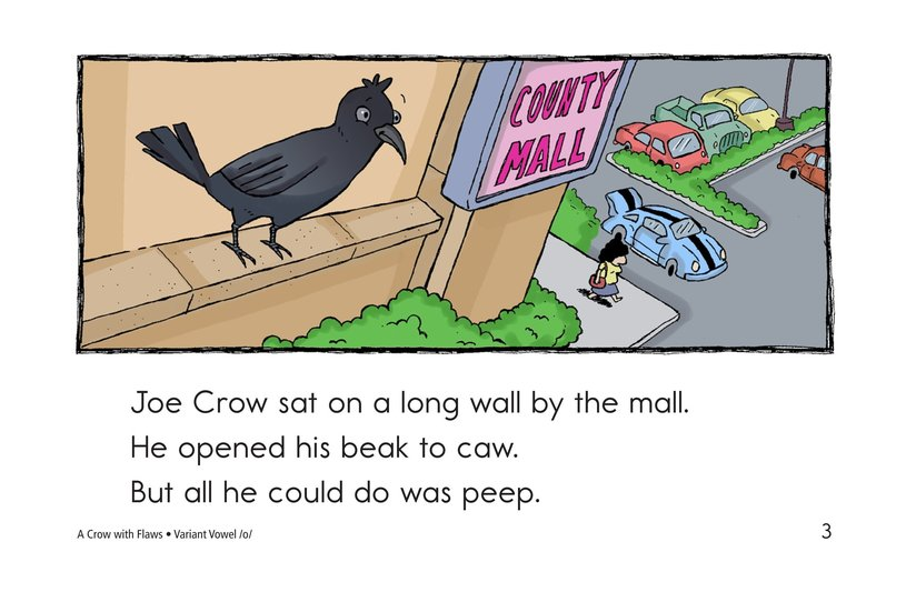 Book Preview For A Crow with Flaws Page 3