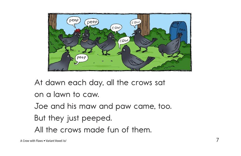 Book Preview For A Crow with Flaws Page 7