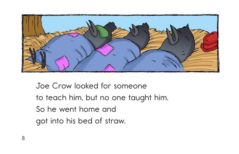 Book Preview For A Crow with Flaws Page 8