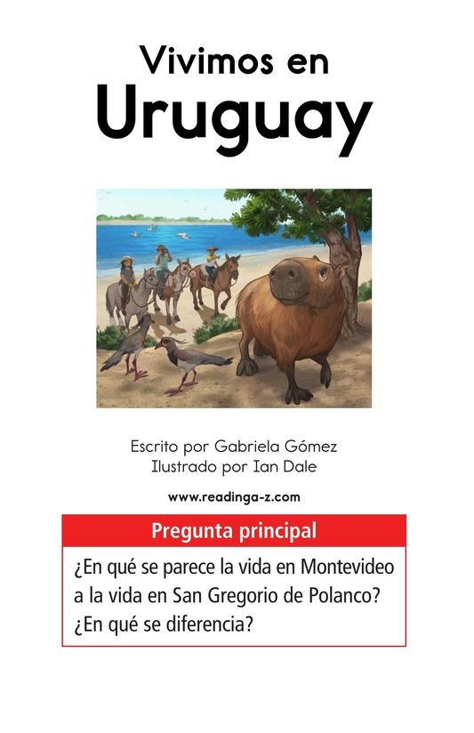 Book Preview For Vivimos en Uruguay Page 1