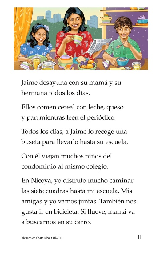 Book Preview For Vivimos en Costa Rica Page 11