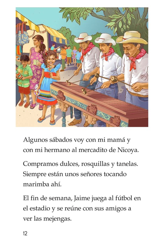 Book Preview For Vivimos en Costa Rica Page 12