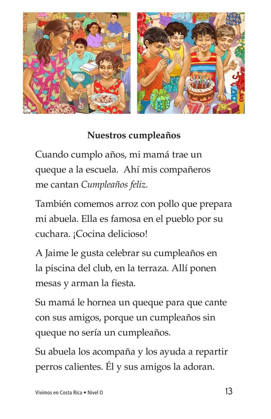Book Preview For Vivimos en Costa Rica Page 13
