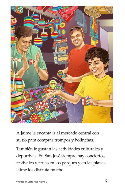 Book Preview For Vivimos en Costa Rica Page 9