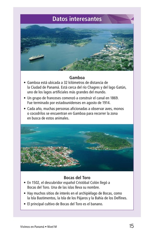Book Preview For Vivimos en Panamá Page 15