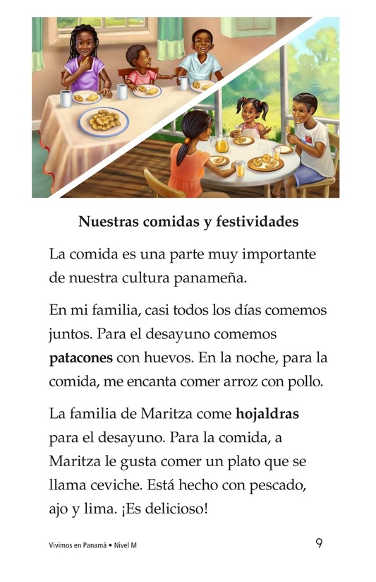 Book Preview For Vivimos en Panamá Page 9
