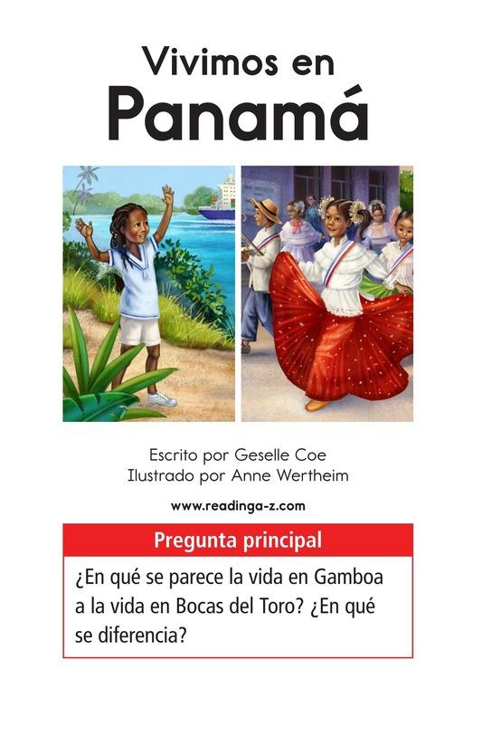 Book Preview For Vivimos en Panamá Page 1