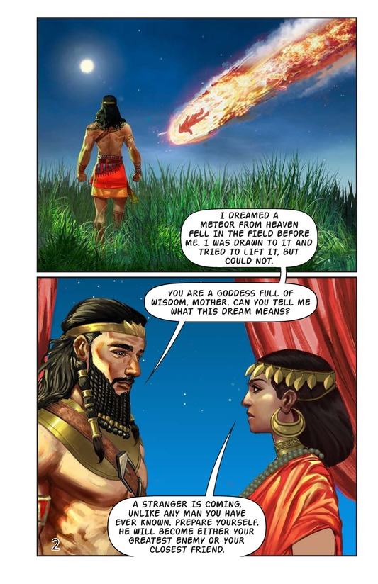 Book Preview For Gilgamesh and Enkidu Page 3
