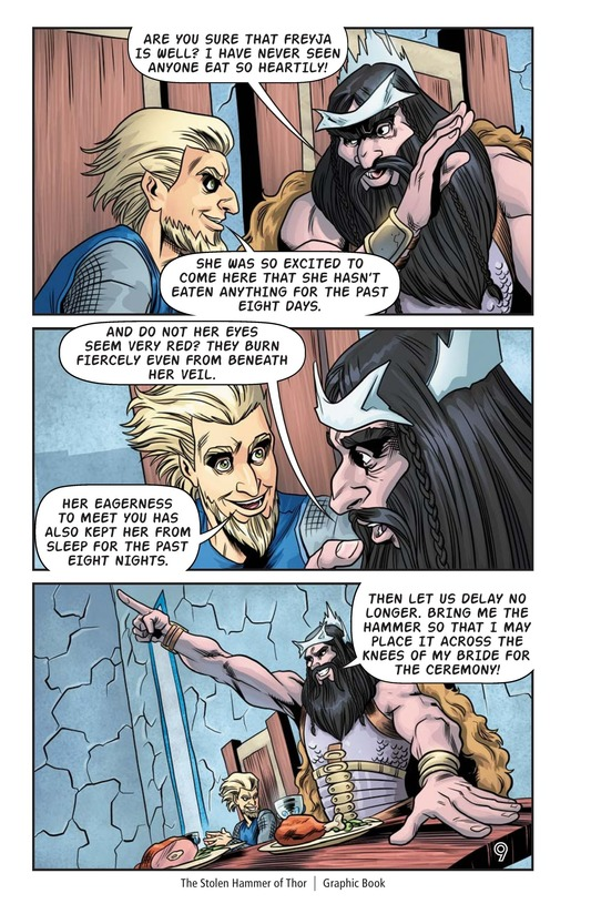 Book Preview For The Stolen Hammer of Thor Page 10