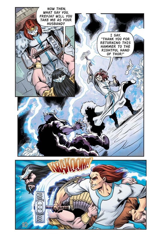 Book Preview For The Stolen Hammer of Thor Page 11