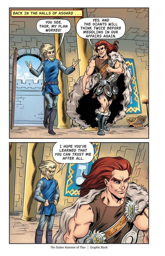 Book Preview For The Stolen Hammer of Thor Page 12