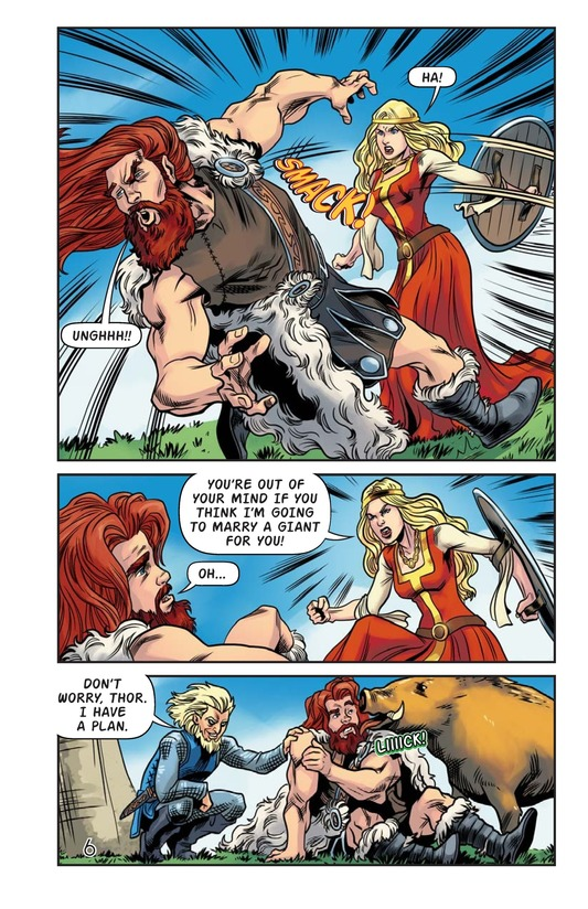 Book Preview For The Stolen Hammer of Thor Page 7