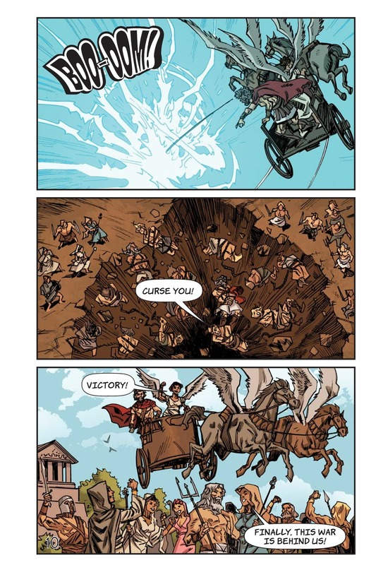Book Preview For Defeat of the Titans Page 11