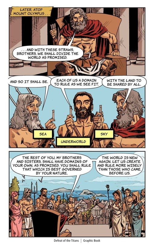 Book Preview For Defeat of the Titans Page 12