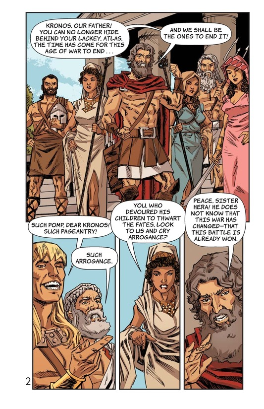 Book Preview For Defeat of the Titans Page 3